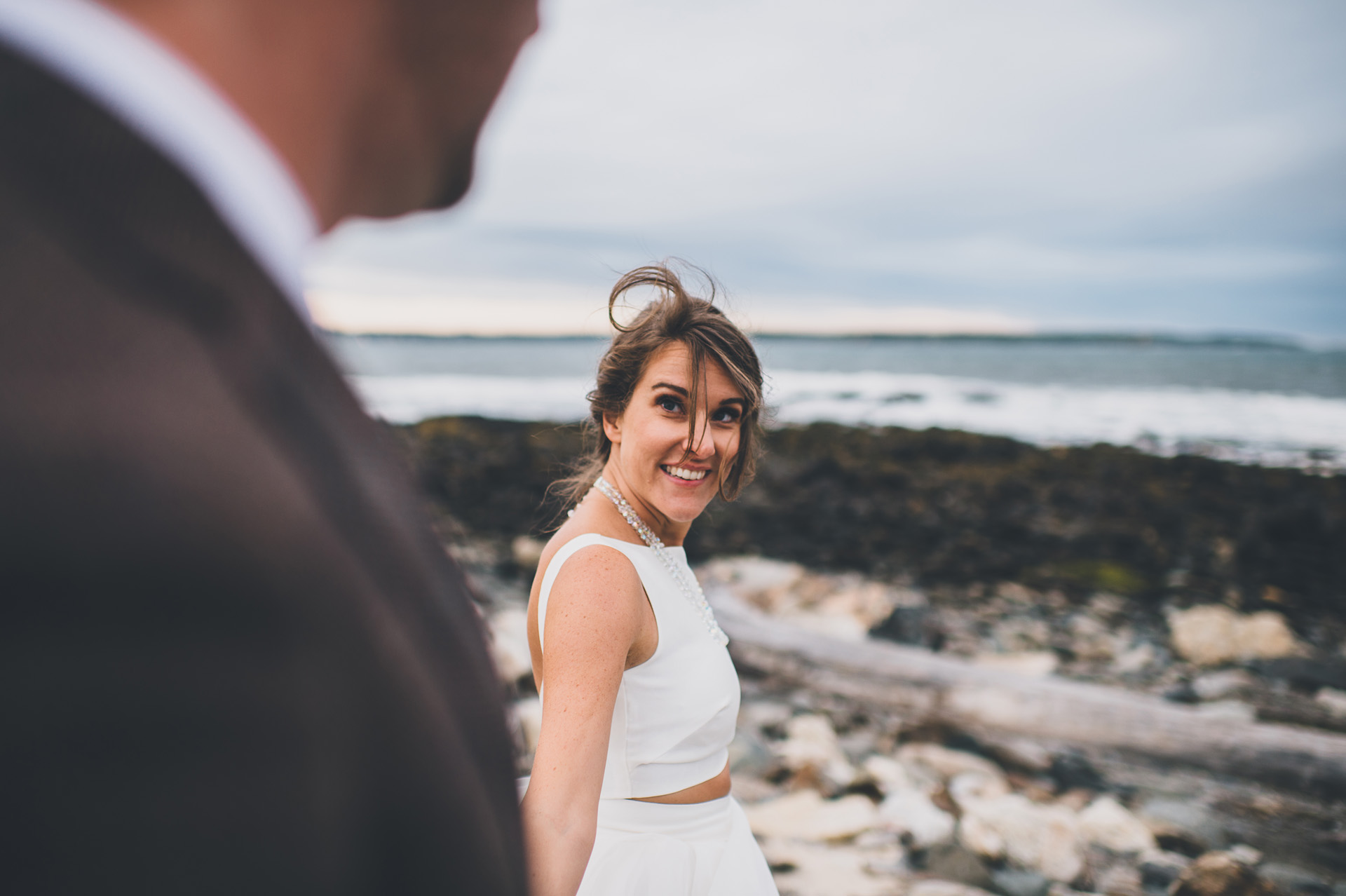 seacoast science center wedding portraits